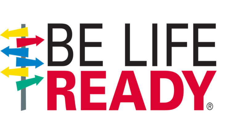 Be Life Ready logo 35